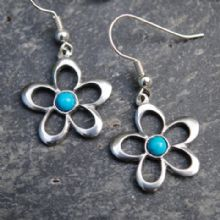Flower earrings E07